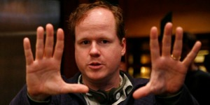 DOLLHOUSE:  Joss Whedon (R) directing on set with director of photography Ross Berryman (L).  ©2009 Fox Broadcasting Co.  Cr:  Greg Gayne/FOX